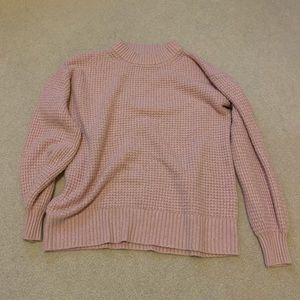 American Eagle: Pink Cloud Sweater